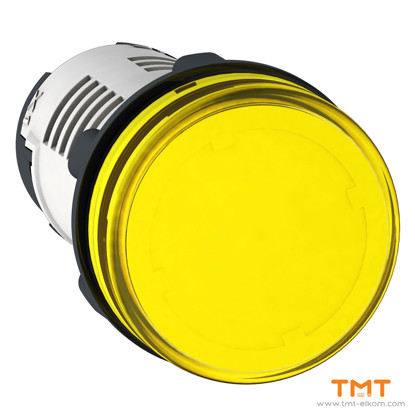 Picture of LED YELLOW PILOT LIGHT 24 V