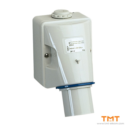 Picture of PLUG WALL MOUNT 16A 2P-E 200-250V IP44 5