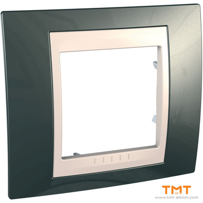 Picture of 1gang c. frame Light Grey/Iv