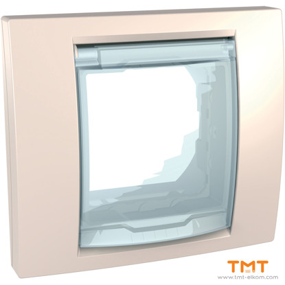 Picture of COVER FRAME AND SUPPORT IP44 IVORY