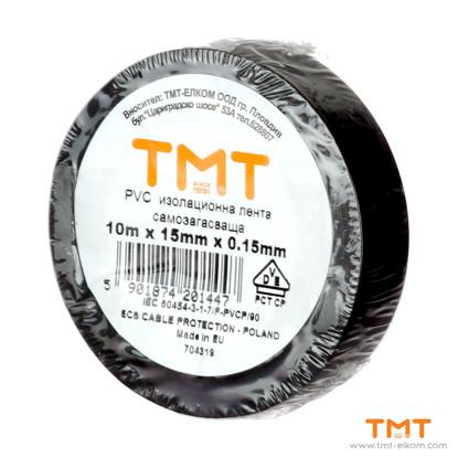 Picture of PVC Tape 15mmx10m black 10pcs/rol
