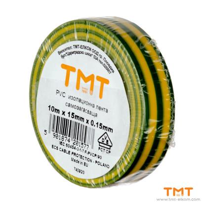 Picture of PVC Tape 15mmx10m gys 10pcs/rol