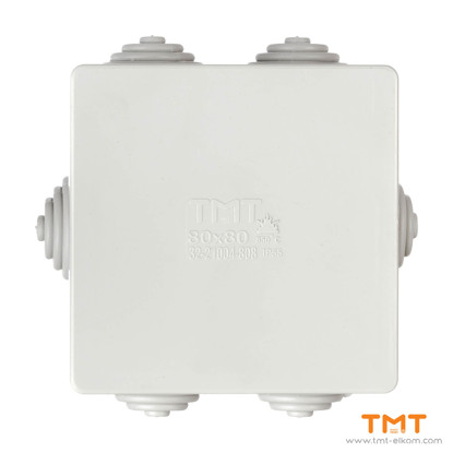 Picture of TMT ELKOM Junction box 80x80 Gray
