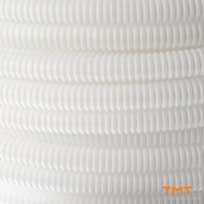 Picture of CORRUGATED PIPE D13.5-14mm,WHITE 100m