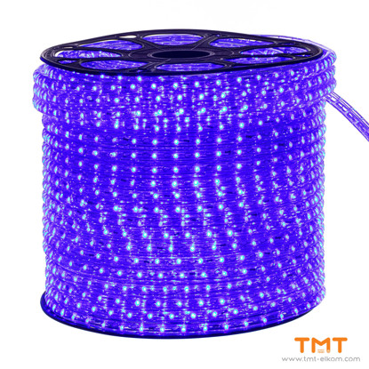 Picture of AC230V LED ROPE LIGHT 48 CHIPS/M,12mm,BLUE