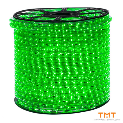 Picture of AC230V LED ROPE LIGHT 48 CHIPS/M,12mm,GREEN