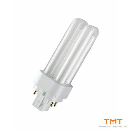 Picture of COMPACT FLUORESCENT LAMP DUL.D/E 13W/840 G24q-1 OSRAM