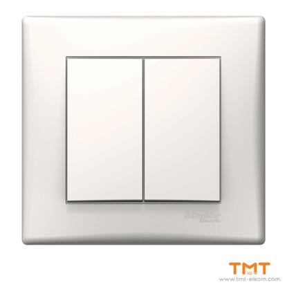 Picture of Sedna DIY-1p 2-circuit switch-10AX cream