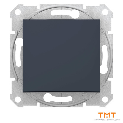 Picture of Sedna-1p pushbut-10A wo frame graphite