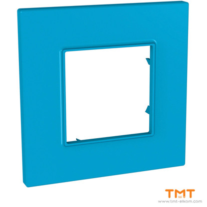 Picture of 1 gang Quadro cover frame Aqua