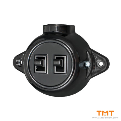 Picture of DOUBLE ONE WAY SWITCH OUTLED ATRA 5119