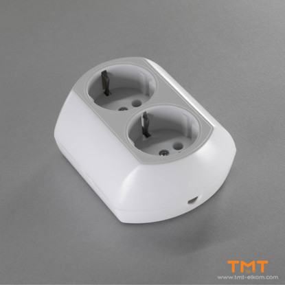 Picture of 2 GANG GROUP SOCKET(WITH TERMINAL) TODI