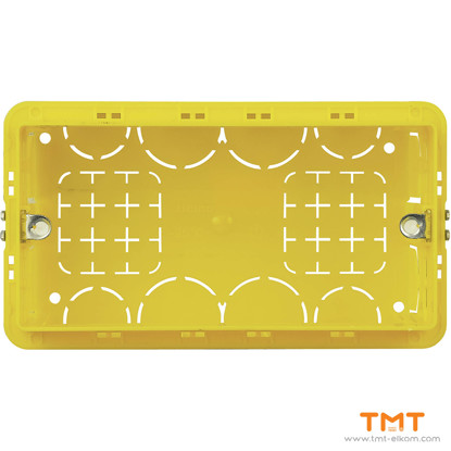 Picture of Conventional Rectangular Box 4 gang 504E