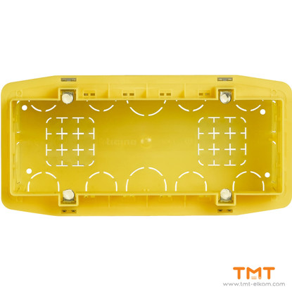 Picture of Conventional Rectangular Box 6 gang 506L