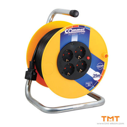 Picture of Cable reel at PVC drum 280 mm,IP20 COMMEL