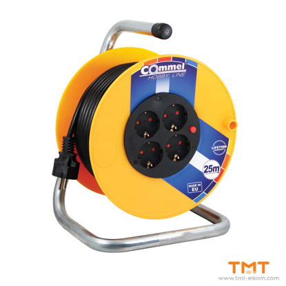 Picture of Cable reel at PVC drum 280mm,H05VV-F 3G1,5 COMMEL