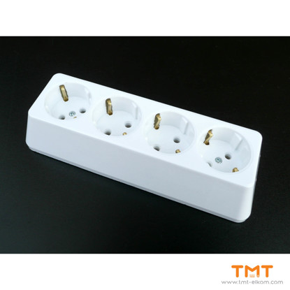 Picture of 4 GANG GROUP SOCKET(WITH TERMINAL) TEHNIL