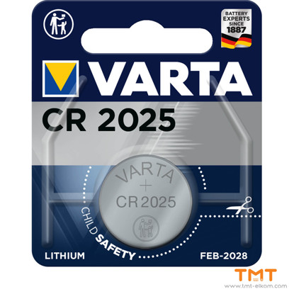 Picture of BATTERY VARTA CR2032 ELECTRONICS LITHIUM