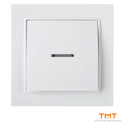Picture of ONE WAY SWITCH-ILLUMINATED WHITE THOR