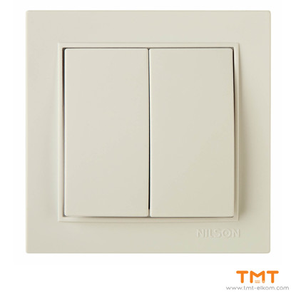 Picture of DOUBLE ONE WAY SWITCH CREAM THOR