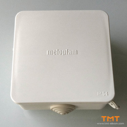 Picture of Junction box 100Х100Х50 for outdoor 70004.10.01 Meloplam