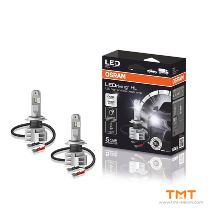 Picture of AUTOMOTIVE LED 67210CW 14W H7 12V/24V,PX26d,6000K,OSRAM