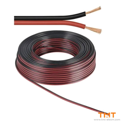 Picture of CABLE H03VH-H 2Х0.50 BLACK/RED 300/300V