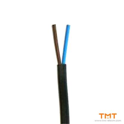 Picture of CABLE H03VVH2-F 2Х0.75 BLACK 300/300V