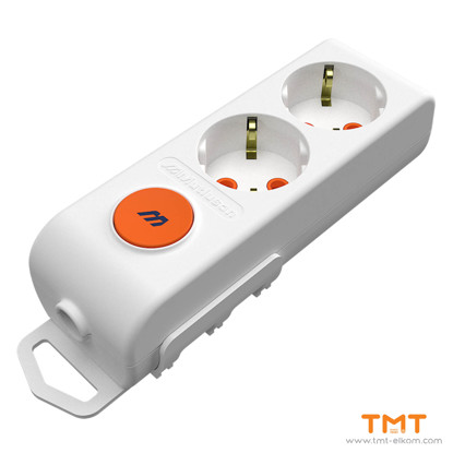 Picture of 2 GANG GROUP SOCKET(WITH TERMINAL-SWITCH) RI-TECH