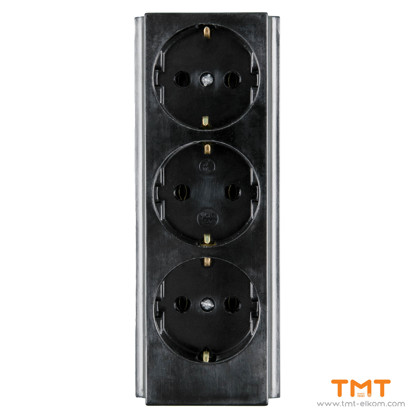Picture of 3 GANG GROUP SOCKET(WITH TERMINAL) N.KIROV
