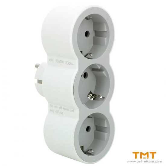 Picture of 3 GANG GROUP SOCKET(WITH TERMINAL) 694518 LEGRAND