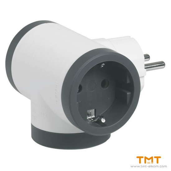 Picture of 3 GANG GROUP SOCKET(WITH TERMINAL) 694520 LEGRAND