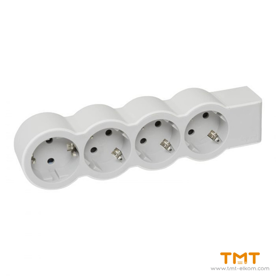 Picture of 4 GANG GROUP SOCKET(WITH TERMINAL) 694575 LEGRAND