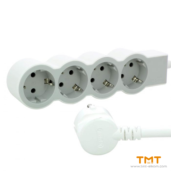 Picture of 4 GANG GROUP SOCKET(3MT) 694561 LEGRAND