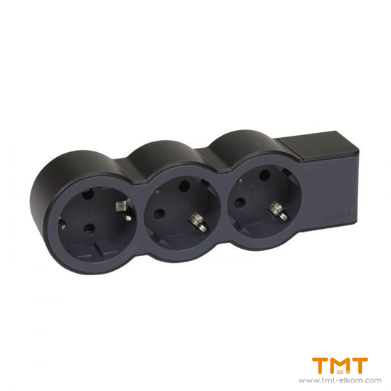 Picture of 3 GANG GROUP SOCKET(WITH TERMINAL) 694574 LEGRAND